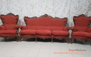 """Комплект мебели для гостиной в стиле """"Барокко"""""""